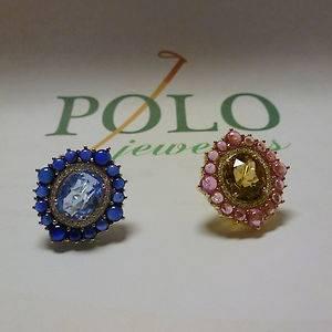 """Judith Ripka 18K Gold Diamond """"Camelot"""" Earrings"""