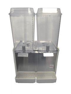 Crathco D25 4 Dual Bowl Cold Drink Juice Dispenser Machine