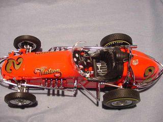 JUD LARSON GMP VINTAGE SPRINT CAR A J WATSON USAC 1 18 DIECAST RACE
