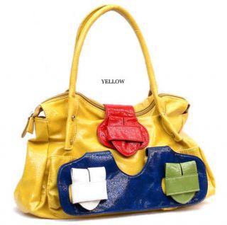 Fashion Buckle Julie Shoulder Bag Hobo Satchel Tote Purse Handbag H