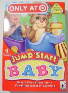 Jump Start Baby World of Learning PC CD ROM Game New