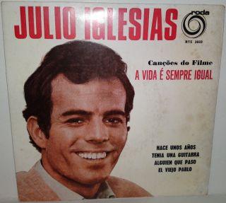 Julio Iglesias Canções do Filme A Vida É Sempre Igual RARE Portugal