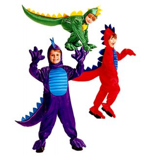 Childs Dragon Jumpsuit Dinosaur Tail Costume Sewing Pattern Size 2
