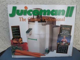 JUICEMAN II CLASSIC PROFESSIONAL JUICER JM 2 JUICE EXTRACTOR JUICING