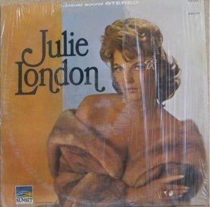 Julie London Self Titled Sunset LP