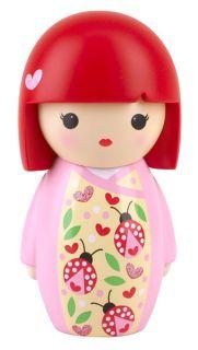 Millie 3 5 Kimmi Doll Junior Pink Red Ladybug Resin Kokeshi Doll