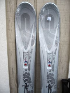 New K2 True Luv Women Specific Alpine Skis 167cm Marker 10 0 Bindings