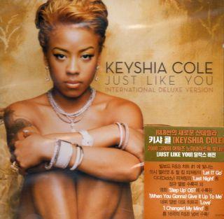 Keyshia Cole Just Like You Int Deluxe Korea CD New