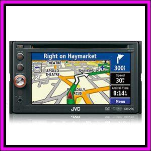 JVC KW AV50 6 1 Touch Screen GPS System DVD  iPhone iPod Car Player