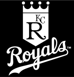 Kansas City Royals 5 by6 Vinyl Die Cut Bumper Decal Window Sticker Car