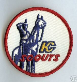 Vintage Kansas City Scouts NHL Hockey Sports Patch