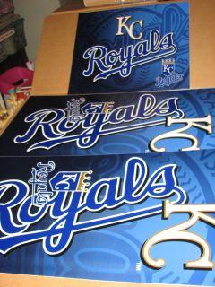 New MLB Kansas City Royals Maytag Skybox Panel