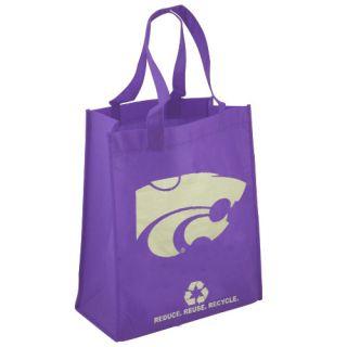 Kansas State Wildcats Purple Reusable Tote Bag