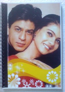 Shahruh Shah Rukh Kajol on Cover Notebook Note Book