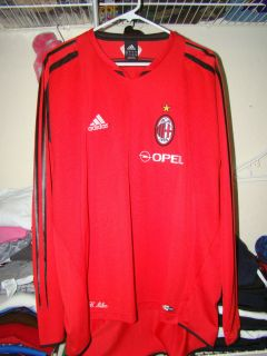 Kaka, Ronaldo, Seedorf , Maldini, AC Milan Adidas Training Long Sleeve