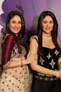 Indian Bollywood Actress Kareena Kapoor Designer New Saree Sari
