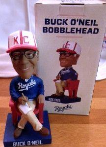 Buck ONeil Bobblehead Kansas City Royals