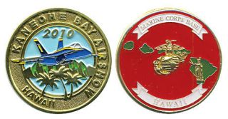 Marine Corps Base Kaneohe Bay Air Show Challenge Coin