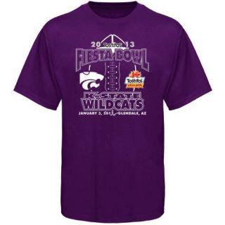 Kansas State Wildcats 2013 Fiesta Bowl Bound T Shirt Purple