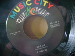 Mint R B Doo Wop 45 4 Deuces w P L J Kary Maeson Spingle Music City