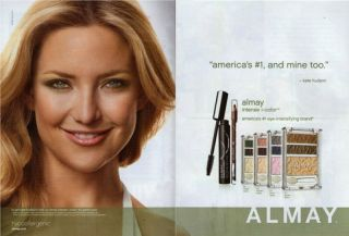 Kate Hudson Almay 2010 Magazine Print Ad C