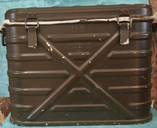 New 1984 Military Insulated Mermite Hot Cold Food Container w 3