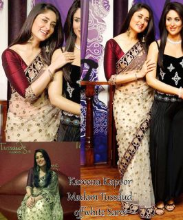 Bollywood Replica Kareena Kapoor Madam Tussaud Museum Saree Sari