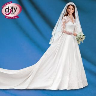 Kate Middleton Bride Doll Princess Catherine Wedding Doll