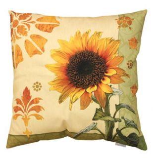 Patio Pool Outdoor Indoor Garden Sunflower Pillow s 2