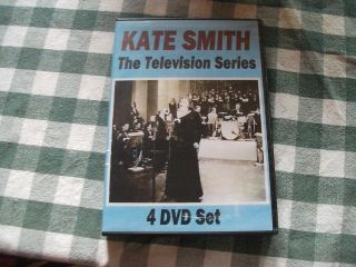 Kate Smith Vintage TV Episodes from 1950 1952 4 DVD Box Set