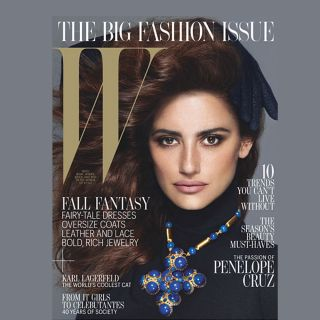 Magazine September 2012 FASHION ISSUE Penelope Cruz CHANEL Karl