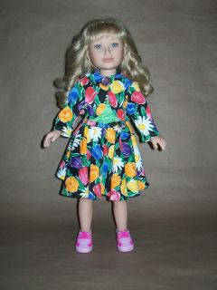 Jacket/Top/Skirt Fashion Outfit for American Girl / Karito Kids Dolls