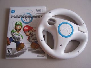 Mario Kart Game Complete with Racing Wheel Nintendo Wii