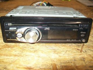 JVC   KD   R310   Car CD Player   Radio