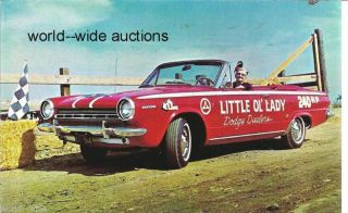 Dodge Dart Little Old Lady from Pasadena Kathryn Minner