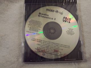 SHANICE   KEITH SWEAT   BBD MIXX IT CD 12 RADIO CLASSICS I [ PROMO ]DJ