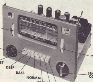 1955 Midwest KD 16 Radio Service Manual Schematic