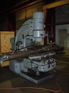 Kearney Trecker Milwaukee Planner Mill 50 HP