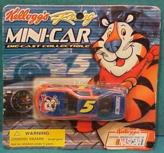 2001 Kelloggs NASCAR Terry Labonte Monte Carlo Diecast Race Car on