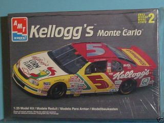 1998 Chevy Monte Carlo Kelloggs NASCAR Kit 1 25 by AMT