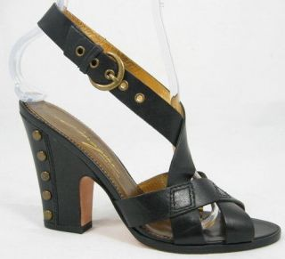 165 Imagine Keely Black Womens Shoes Sandals 8 5 M