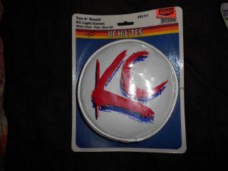 KC Hilites 5111 6 inch White Vinyl Pink Blue KC KC Light Cover