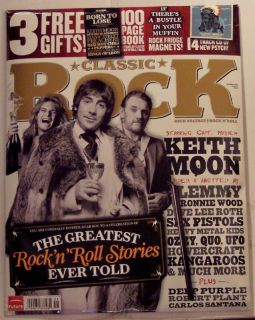 Classic Rock w CD Keith Moon Deep Purple Ozzy 3 Gifts