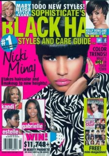 Black Hair Styles 3 2012 Nicki Minaj Kelly Rowland Mary Blige