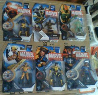 Marvel Universe 16 figure lot Vision Spider man Wolverine Loki Falcon
