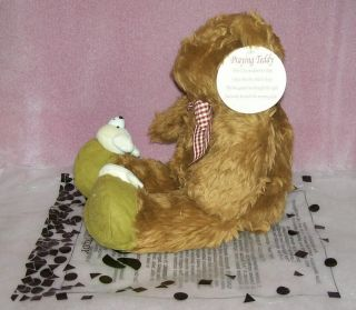 Teddy Bear Avon Praying Prays Talks Plush Stuffed Animal w Slippers 12