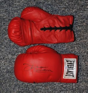 Ken Norton Hand Signed Autographed Everlast Boxing Glove PSA DNA