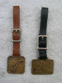 VINTAGE HEAVY EQUIPMENT RELATED WATCH FOBS NORTHWEST INTERNATIONAL