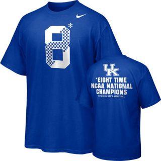 Nike Kentucky Wildcats 8 National Champs basketball shirt M lebron