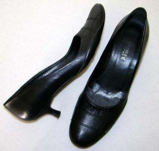 Kenneth Cole New York Black Kitten Heels Shoes 6 M